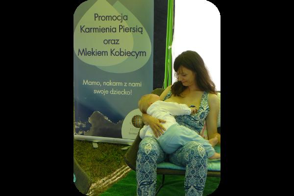 Mama karmiąca Jarmark Kujawsko-Pomorski 2016